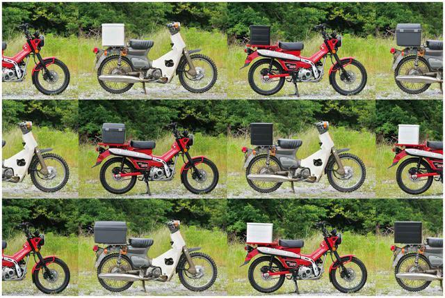 画像1: スーパーカブとハンターカブにいろんな箱を付けまくる第1弾。ホンダ純正ボックス&ビジネス系ボックス編 - webオートバイ