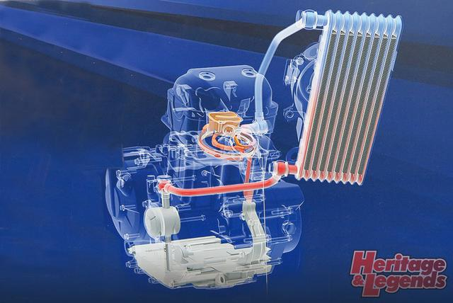 画像1: 潤滑と冷却を別経路とし高効率化した新生油冷