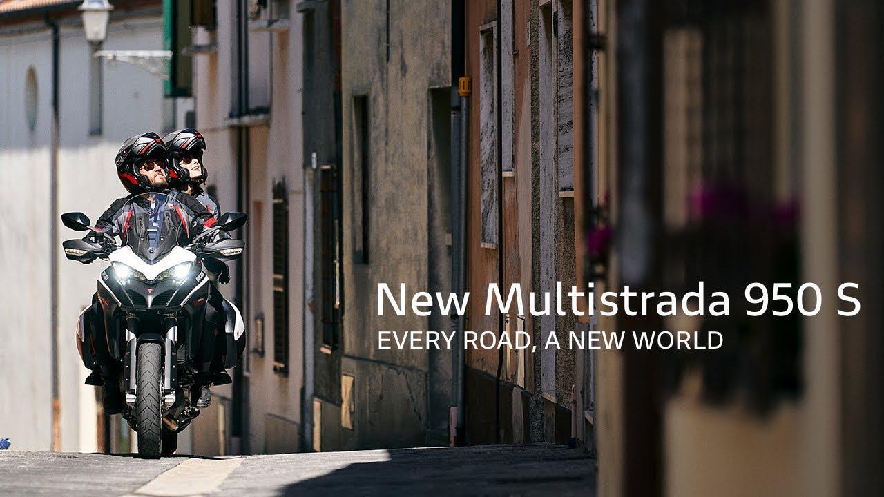 画像: 【公式動画】New Multistrada 950 S GP White | Every road, a new world www.youtube.com
