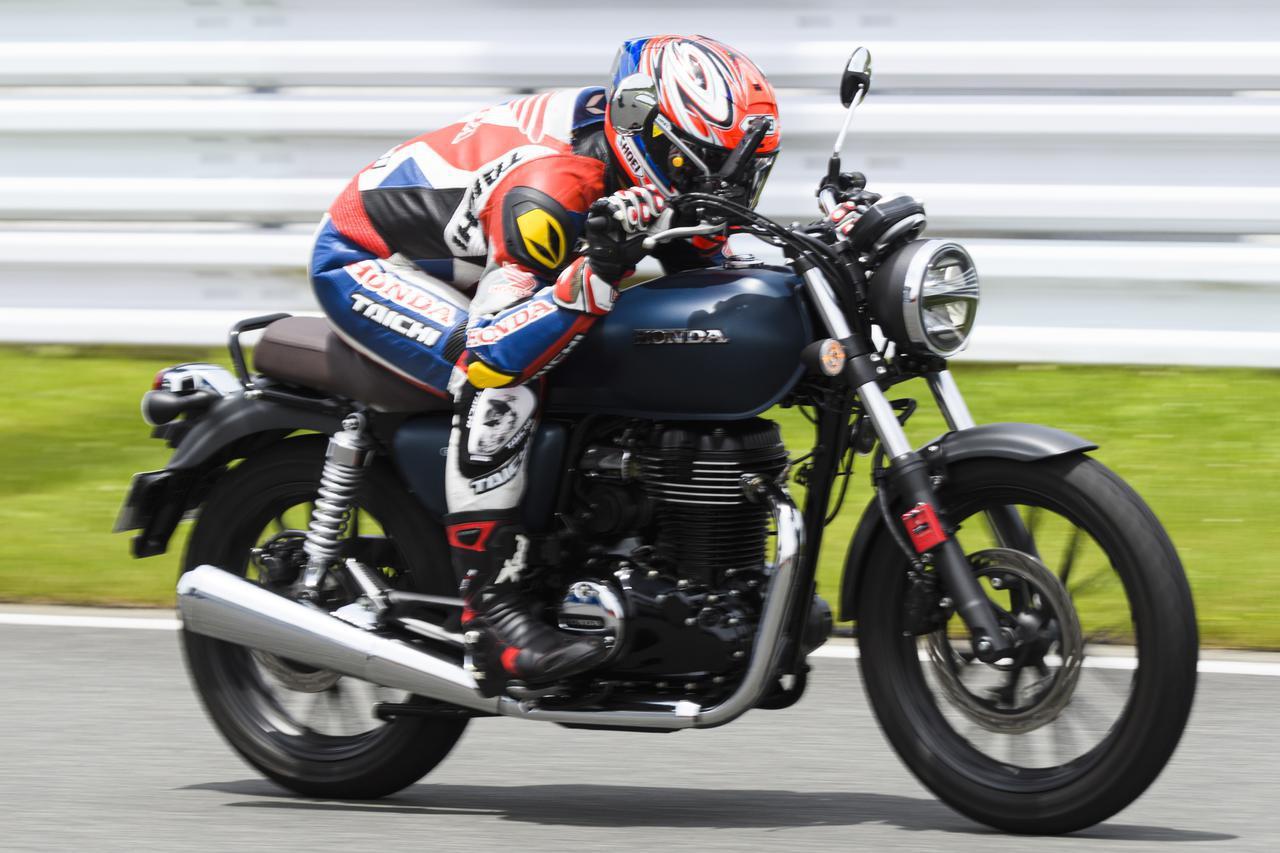 画像: ホンダ「GB350」の最高速を計測! - webオートバイ