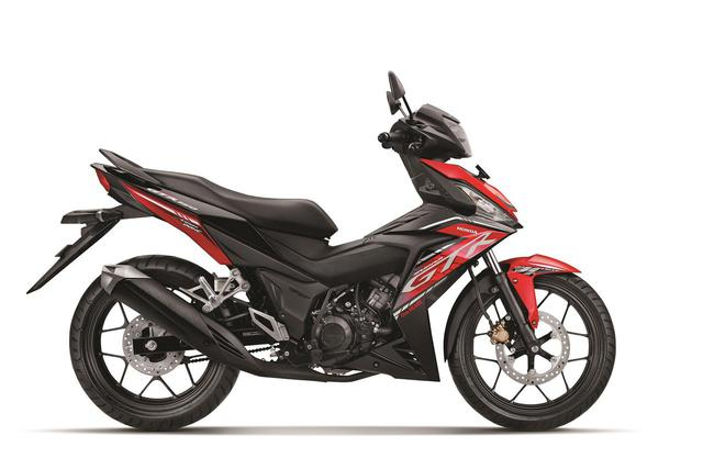 画像: ホンダ「スープラGTR150」インドネシアの最上級アンダーボーン・スポーツバイク - webオートバイ