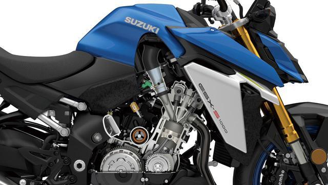 画像: スズキ新型「GSX-S1000」メカニズム解説 - webオートバイ