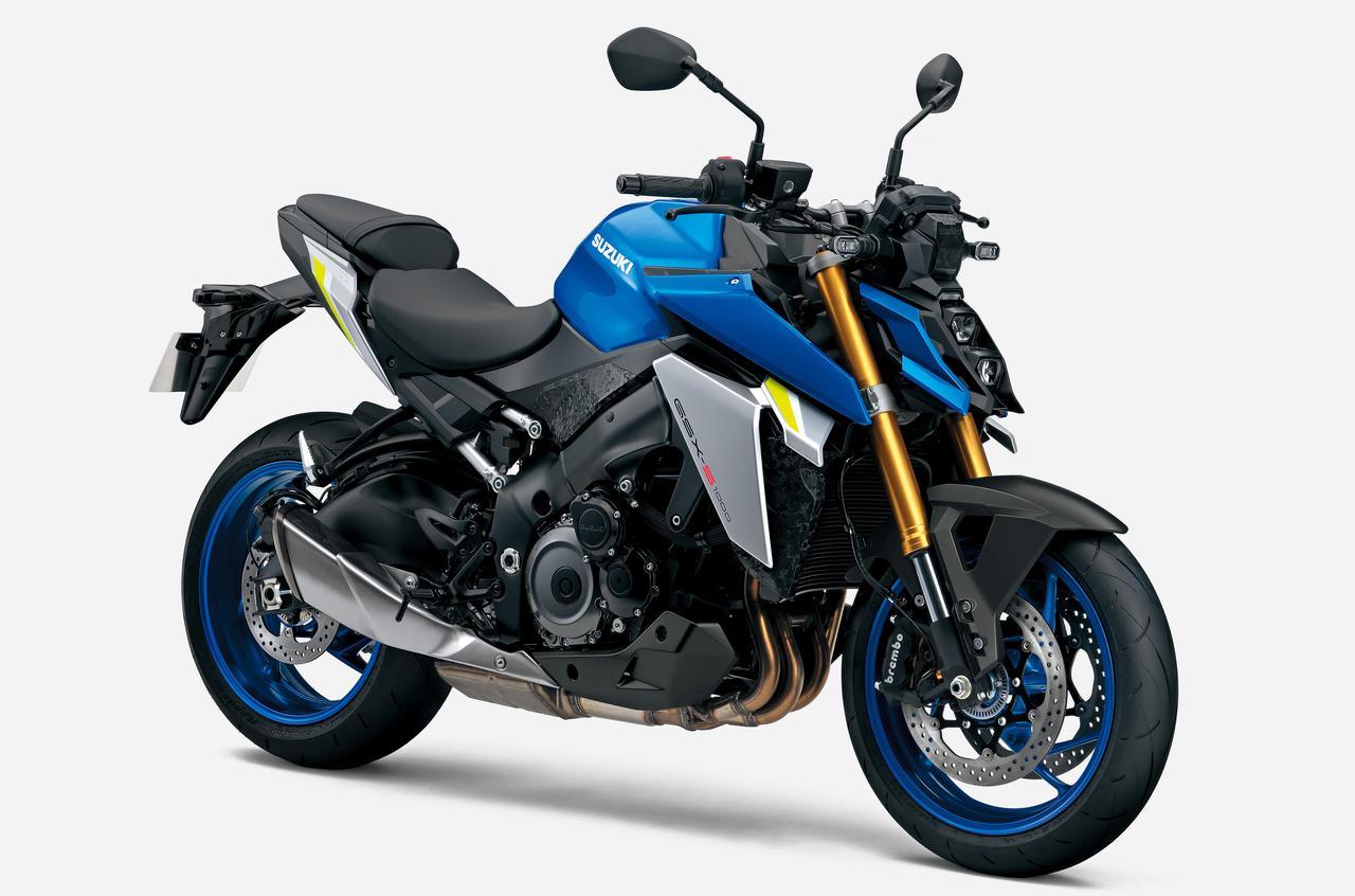 画像1: スズキが新型「GSX-S1000」を発売! スタイリング一新、電子制御装備を充実&最高出力もアップ