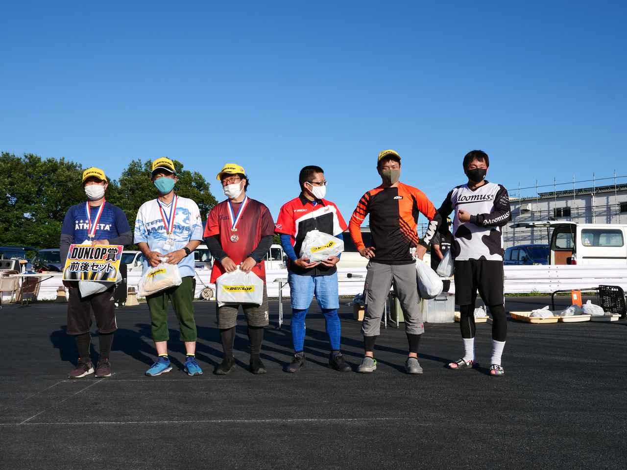 画像: ●SB級入賞者 左から1位・井川洋一選手(B級)、2位・辻家治彦選手(A級)、3位・中澤伸彦選手(A級)、4位・関吉美智選手(A級)、5位・大瀧豊明選手(A級)、6位・清野雅之選手(A級)