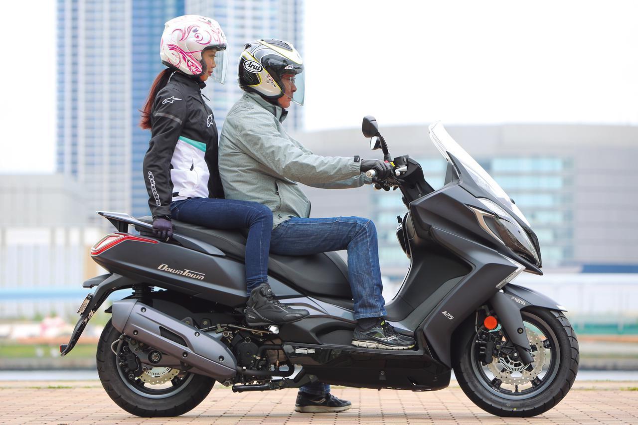 画像: 125cc 原付二種だけど、ビッグスクーター!? キムコ「ダウンタウン125i ABS」を解説 - webオートバイ
