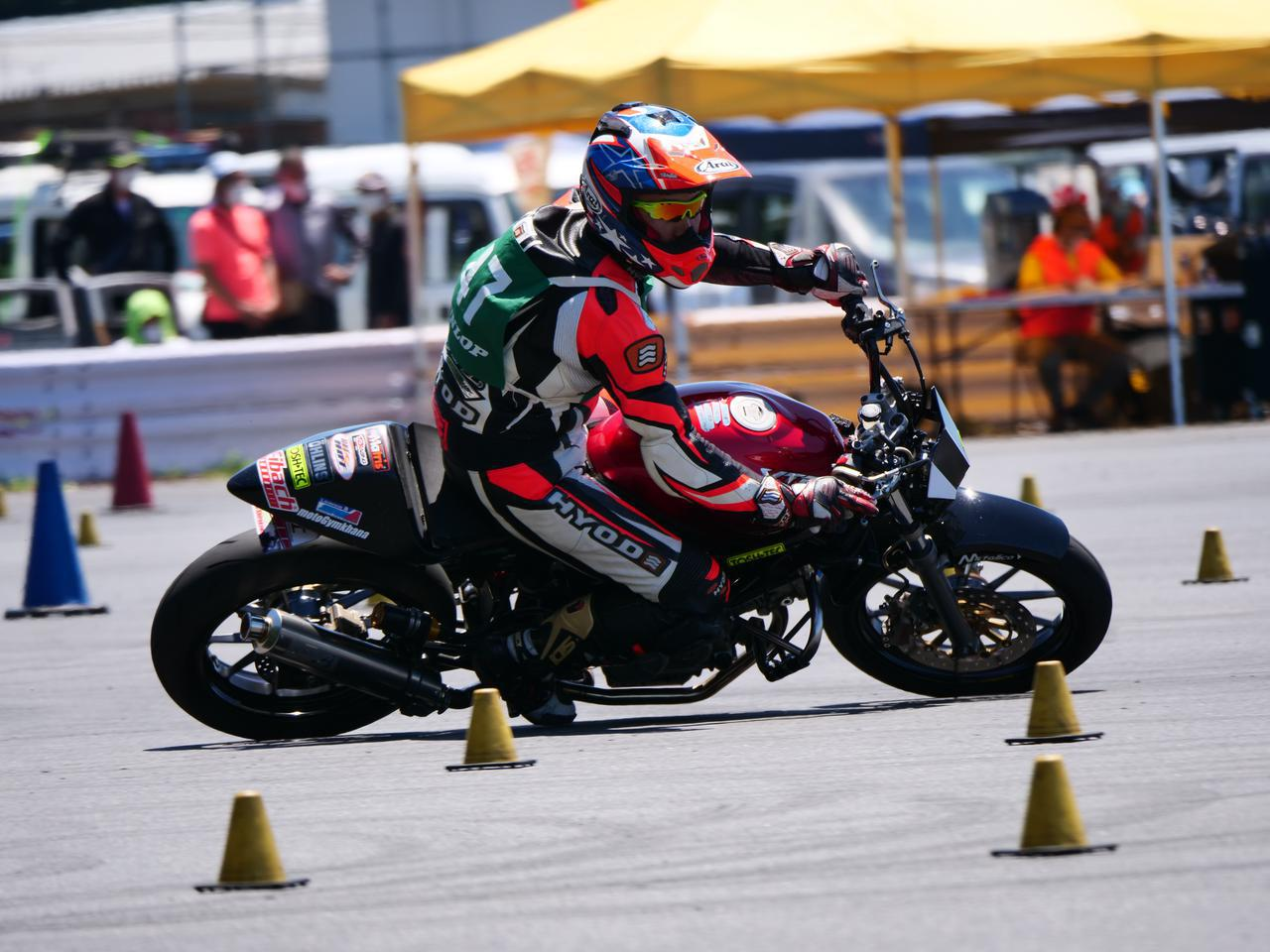画像1: 【オートバイ杯ジムカーナ】各クラスのウイナー&入賞者たち(NL・NO・C2・C1級編)【第2戦・フォトレポート】 - webオートバイ