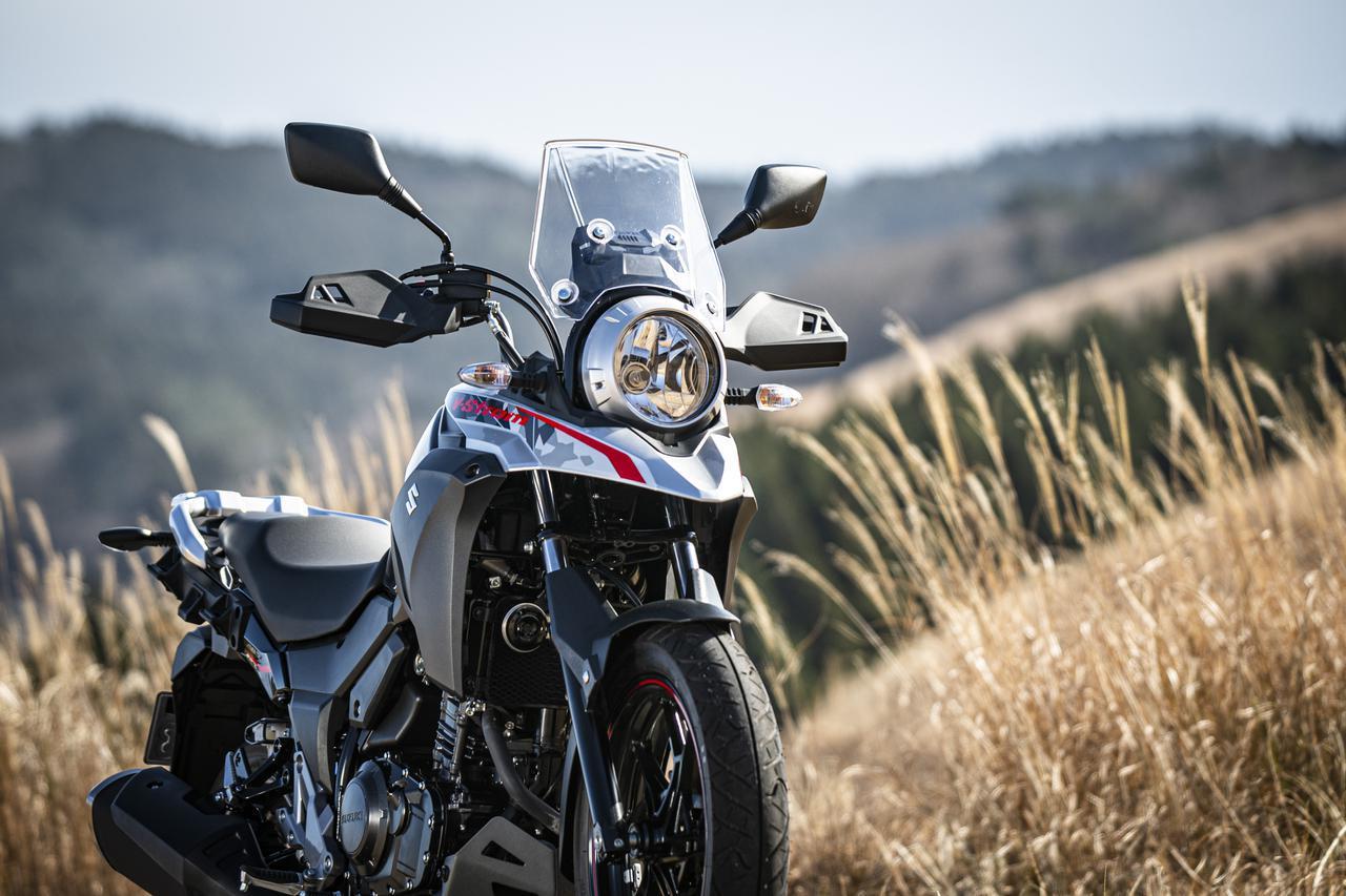 画像: 【燃費&足つき】スズキ「Vストローム250 ABS」 - webオートバイ