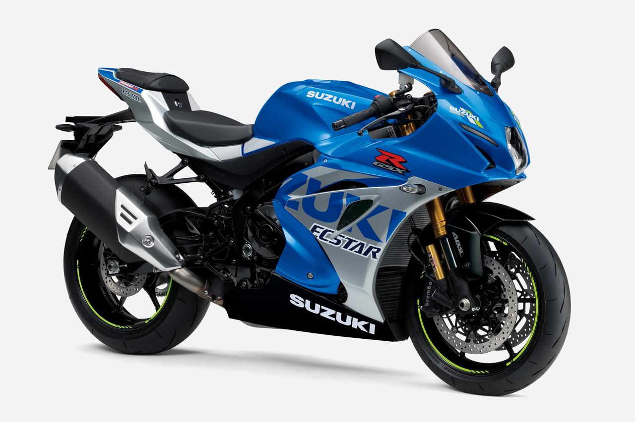 画像: SUZUKI GSX-R1000R ABS 総排気量:999cc エンジン形式:水冷4ストDOHC4バルブ並列4気筒 シート高:825mm 重量:203kg 発売日:2021年7月30日(金) 税込価格:215万6000円