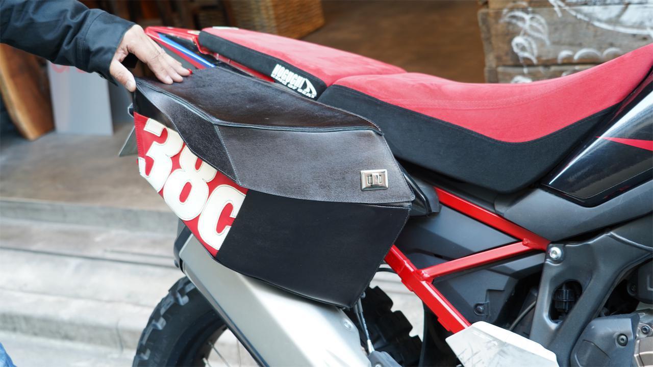 画像4: サイドバッグは本当にできるのか? フィッシュ&チップスを添えて