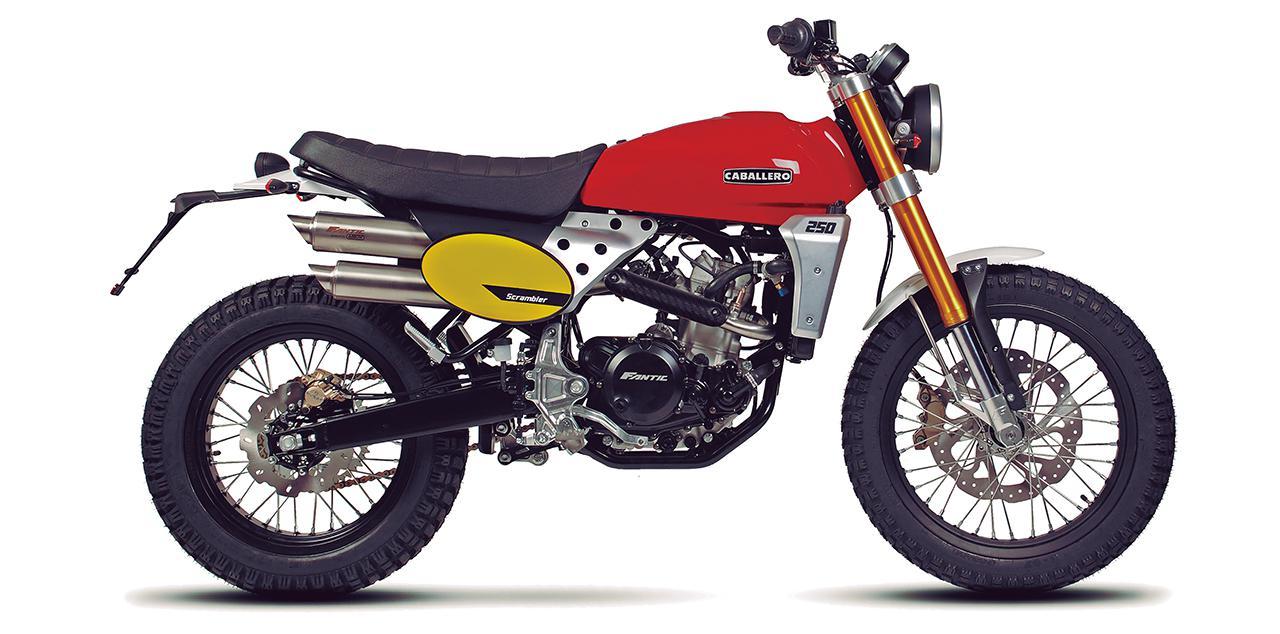 ファンティック「キャバレロ スクランブラー250」【1分で読める 2021年に新車で購入可能な250ccバイク紹介】