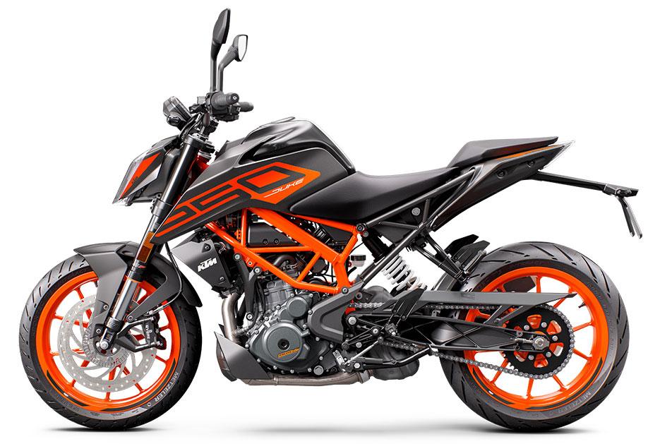 画像2: KTM「250 デューク」【1分で読める 2021年に新車で購入可能な250ccバイク紹介】