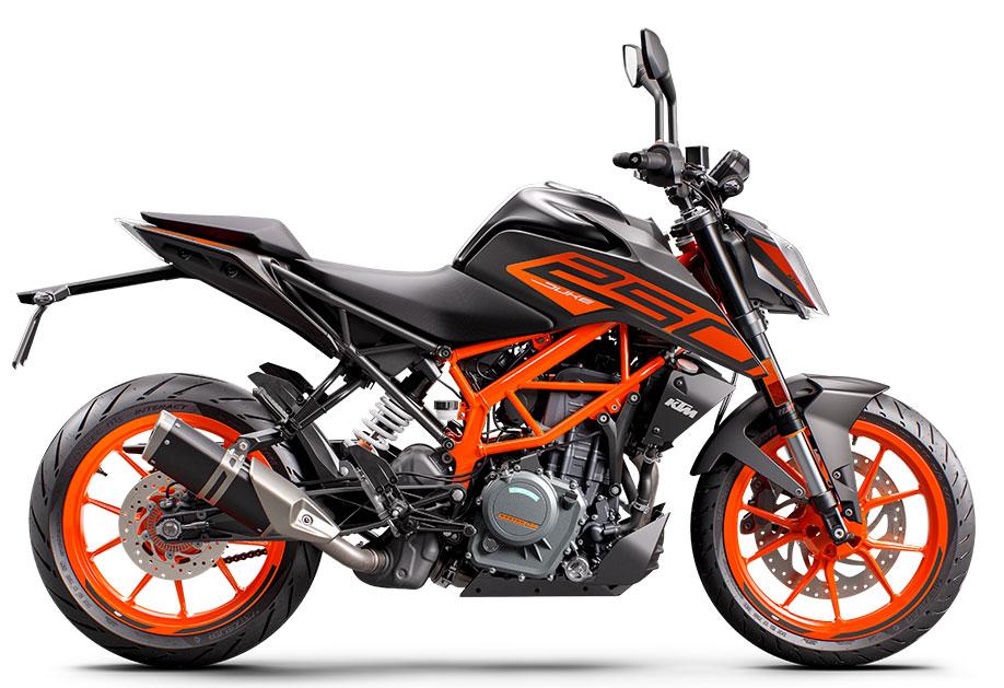 画像3: KTM「250 デューク」【1分で読める 2021年に新車で購入可能な250ccバイク紹介】