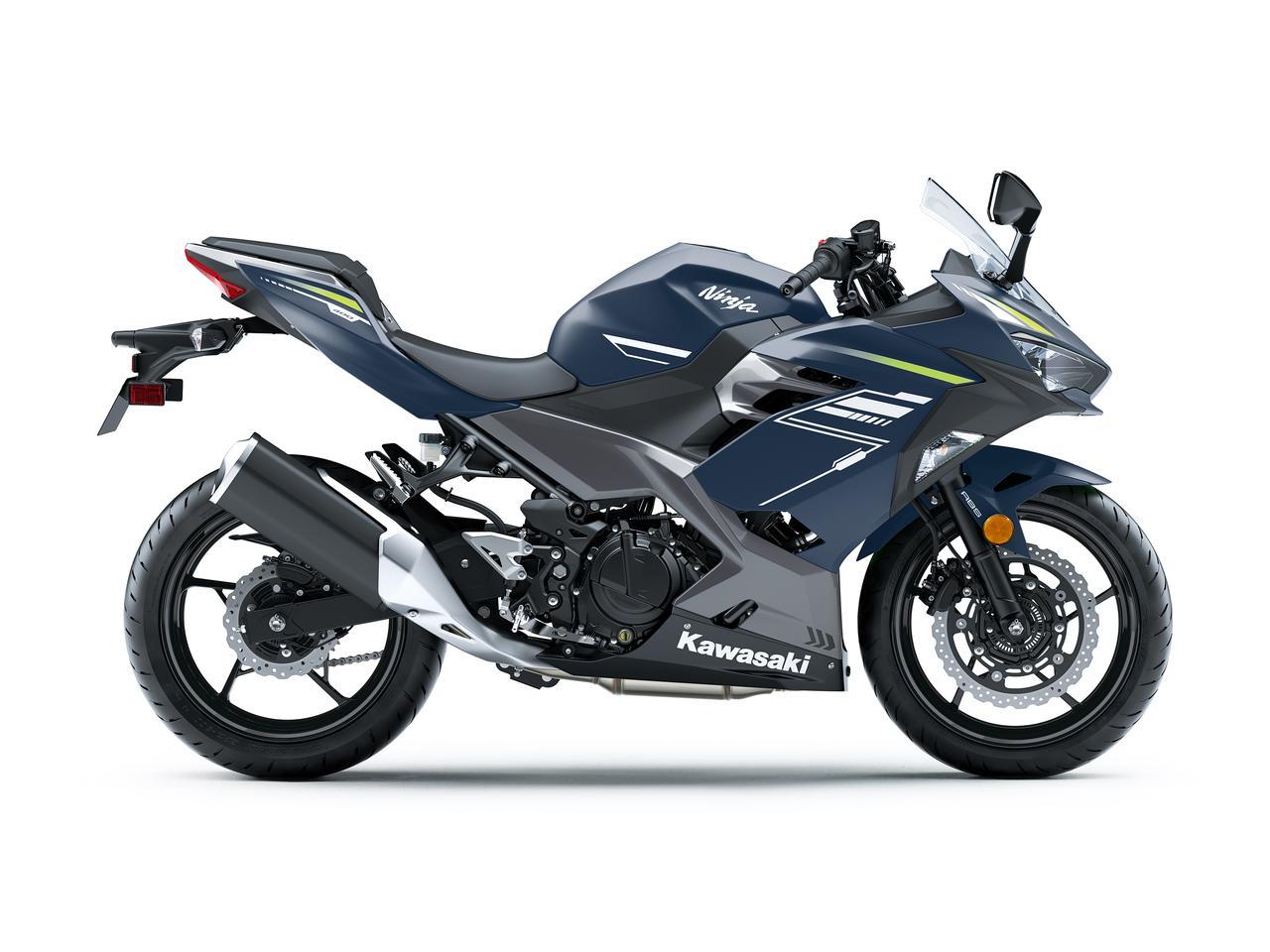 画像2: カワサキ「Ninja400」の2022年モデルは新色をまとってイメージチェンジ! KRTエディションは従来のカラーで継続販売