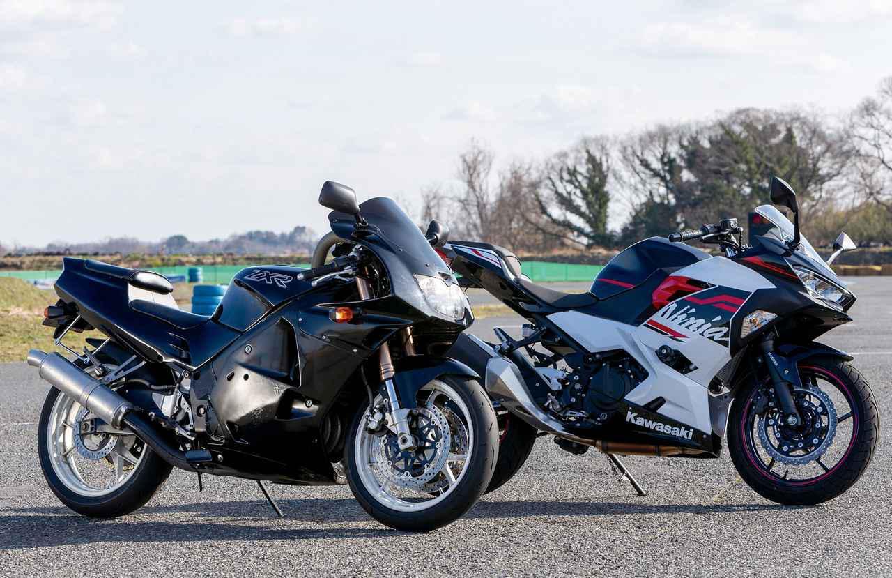 画像: 昔の4気筒と今の2気筒どっちが速いの? カワサキ「ZXR250」VS「Ninja250」 - webオートバイ