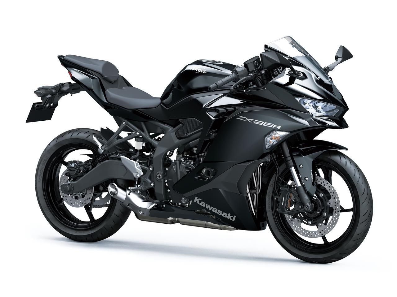 画像: Kawasaki Ninja ZX-25R/SE/SE KRT EDITION 2022年モデル 総排気量:249cc エンジン形式:水冷4ストDOHC4バルブ並列4気筒 シート高:785mm 車両重量:183kg/184kg(SE&SE KRT EDITION) 発売日:2021年9月10日(金) 税込価格:84万7000円/93万5000円(SE&SE KRT EDITION) ※写真は、Ninja ZX-25R