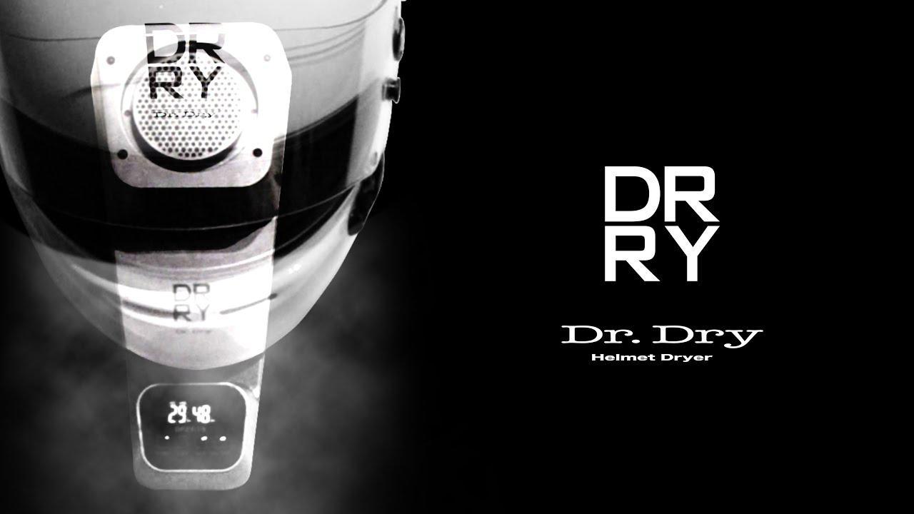 画像: 【動画】Dr. Dry ドクタードライ ヘルメットドライヤー www.youtube.com