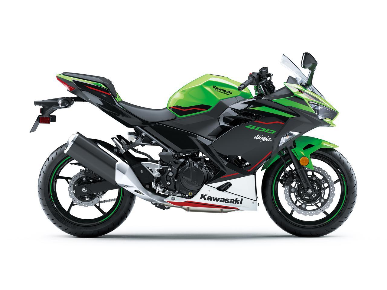 画像3: カワサキ「Ninja400」の2022年モデルは新色をまとってイメージチェンジ! KRTエディションは従来のカラーで継続販売