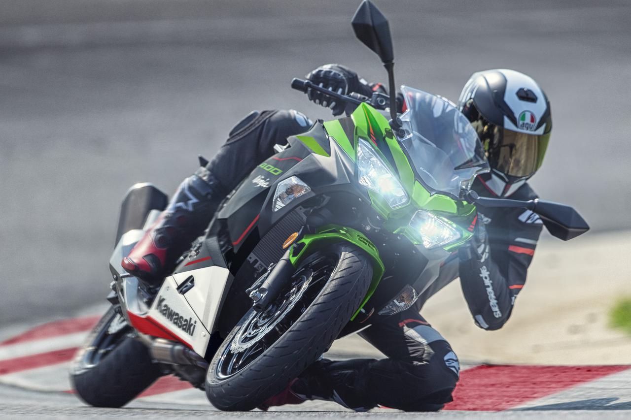 画像: 【2021年カラー情報】カワサキ「Ninja400」シリーズ - webオートバイ