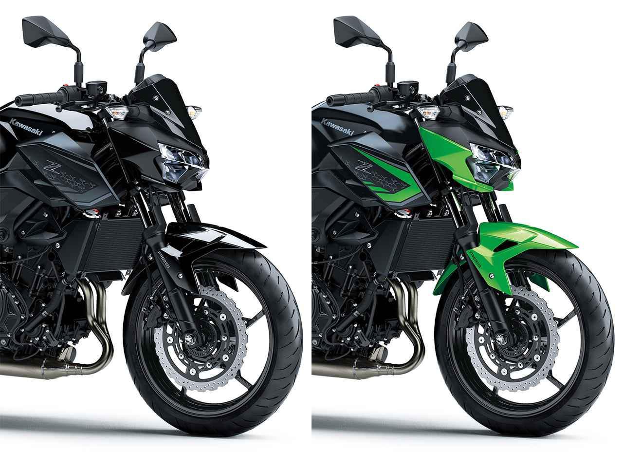 画像: 【2021年モデル情報】カワサキ「Z400」 - webオートバイ