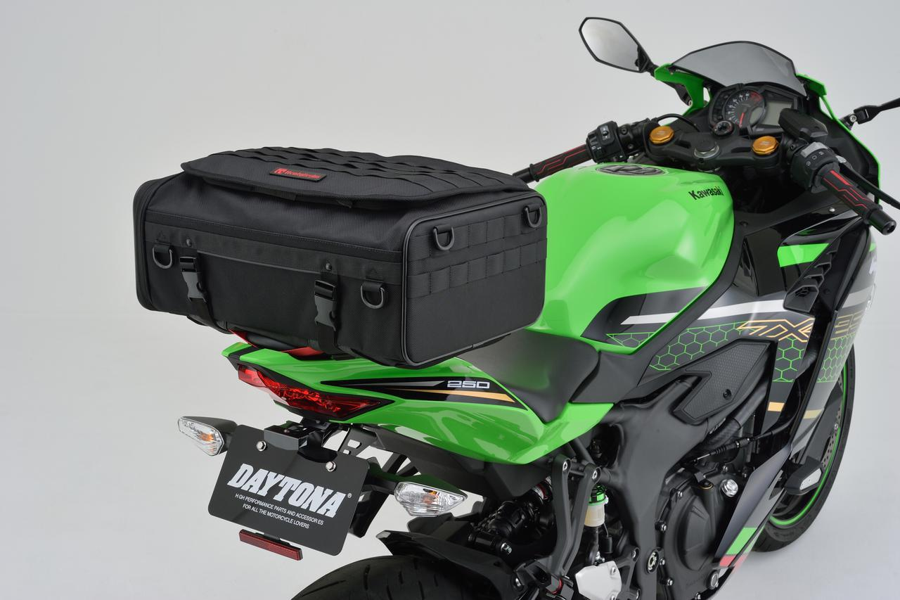 画像: HenlyBegins 2WAYシートバッグ DH-751 メーカー希望小売価格:税込17,600円 サイズ:H170×W440×D300mm