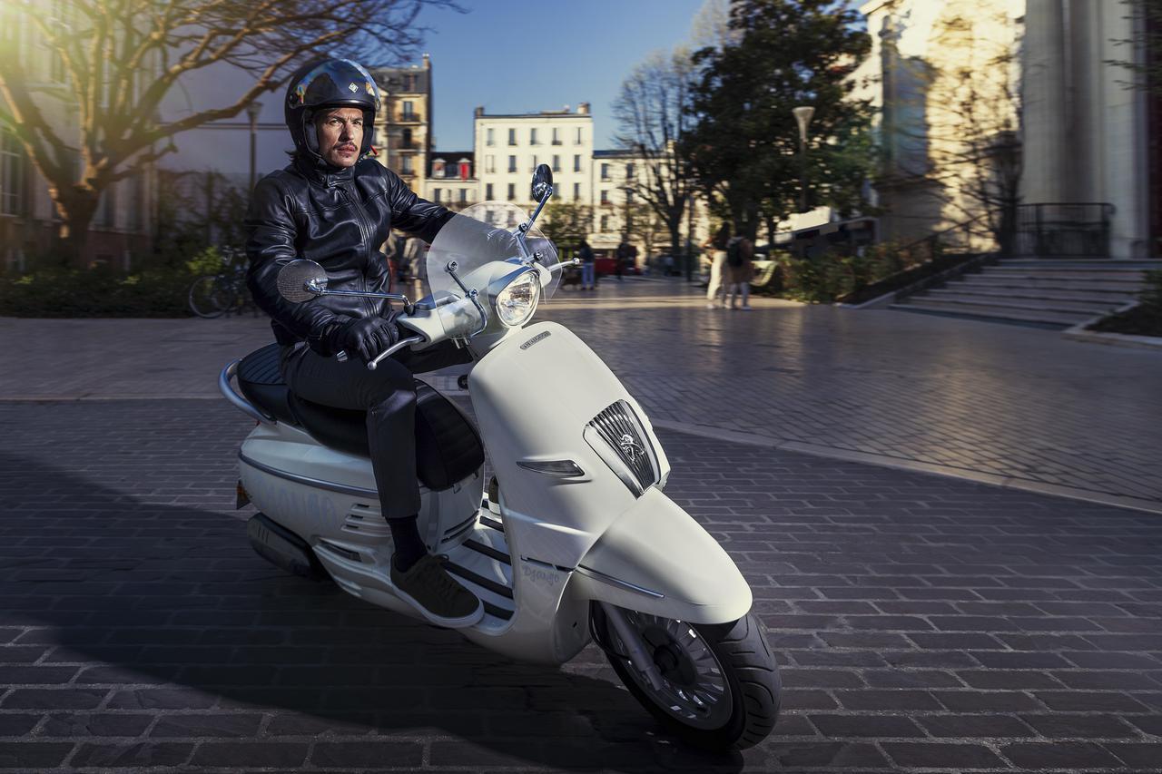 画像: プジョーモトシクルが「ジャンゴ」の2021年後期モデルを発売 - webオートバイ