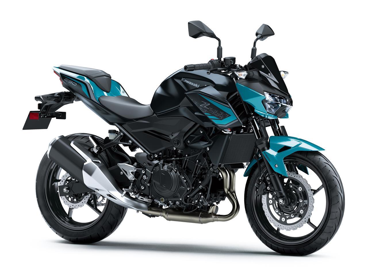 画像2: カワサキ「Z250」2022年モデル発売! スーパーネイキッド・Zシリーズの250ccモデルが新色に