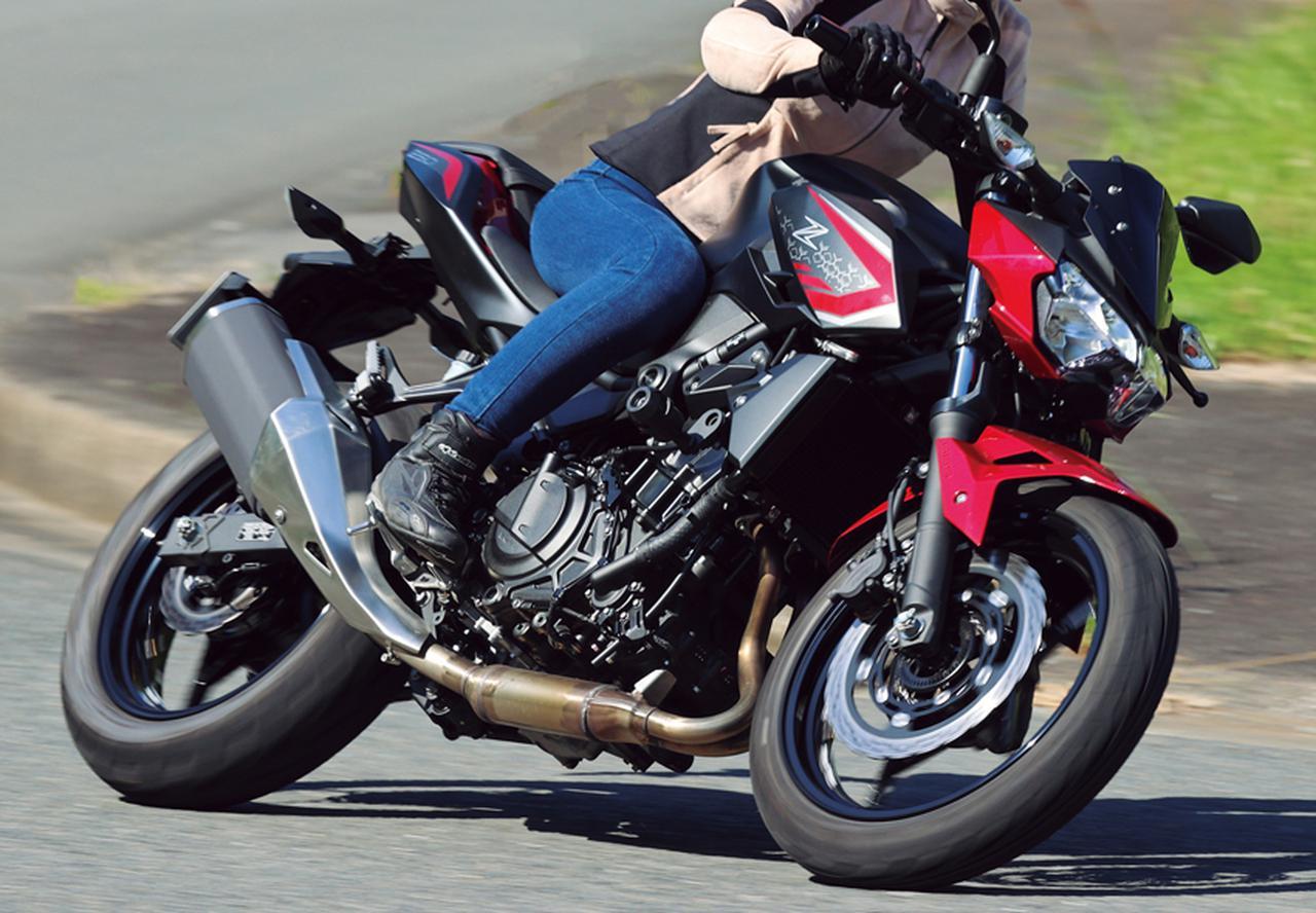 画像: カワサキ「Z250」インプレ(2021年) - webオートバイ