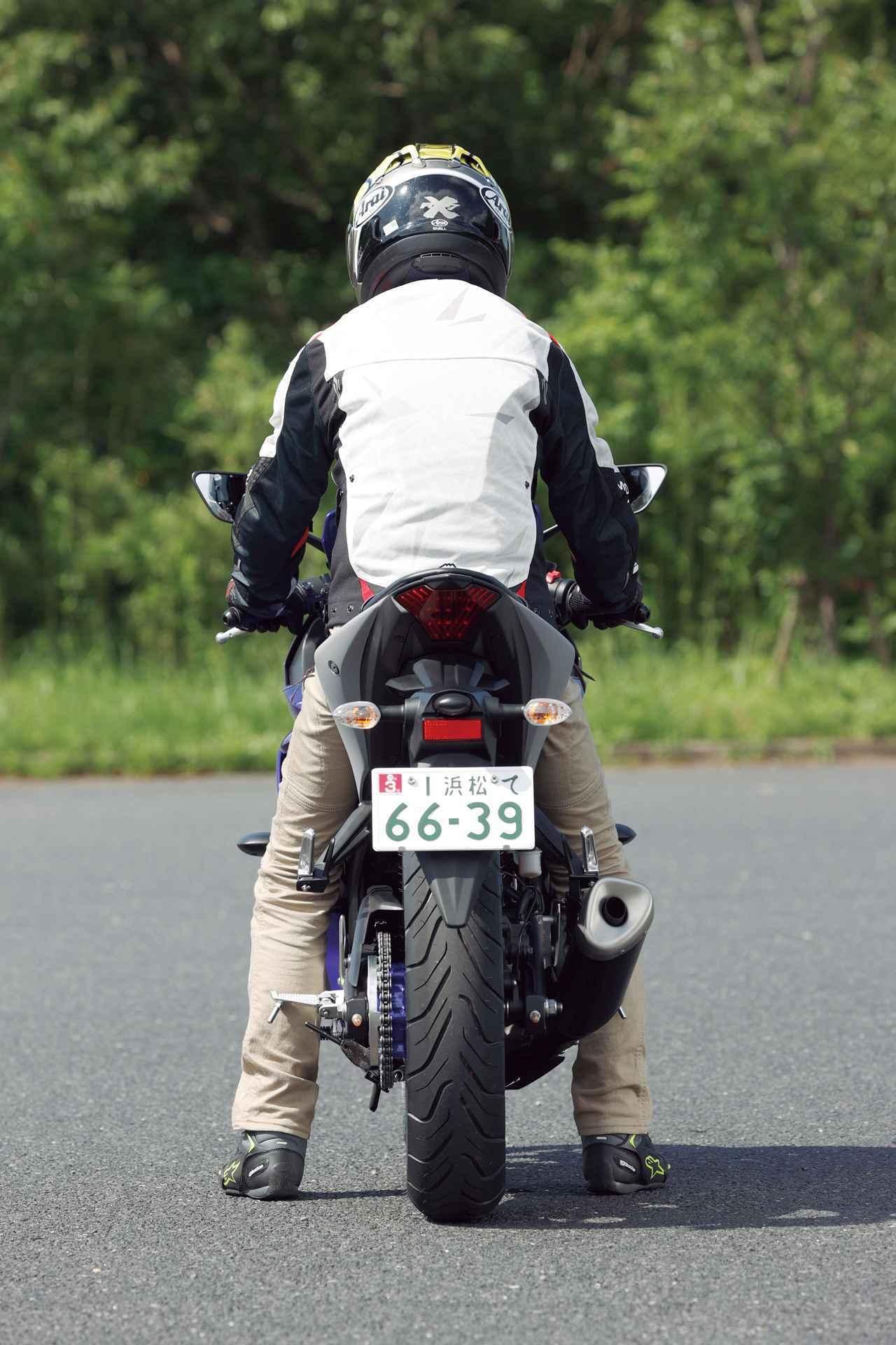画像: 【足つき&各部解説】ヤマハ「YZF-R25 ABS」 - webオートバイ