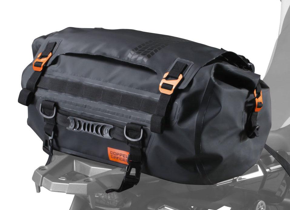 画像: ターポリンツーリングドラムバッグ モデル:DBT511-BK 容量:30L 重量:1.4kg 最大積載量:10kg