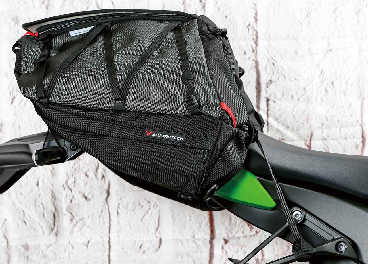 画像: SW-MOTECH/PROカーゴバッグ 税込価格:30,800円 サイズ:70×50×33cm 重量:1700g 容量:50L 素材:1680Dバリスティックナイロン