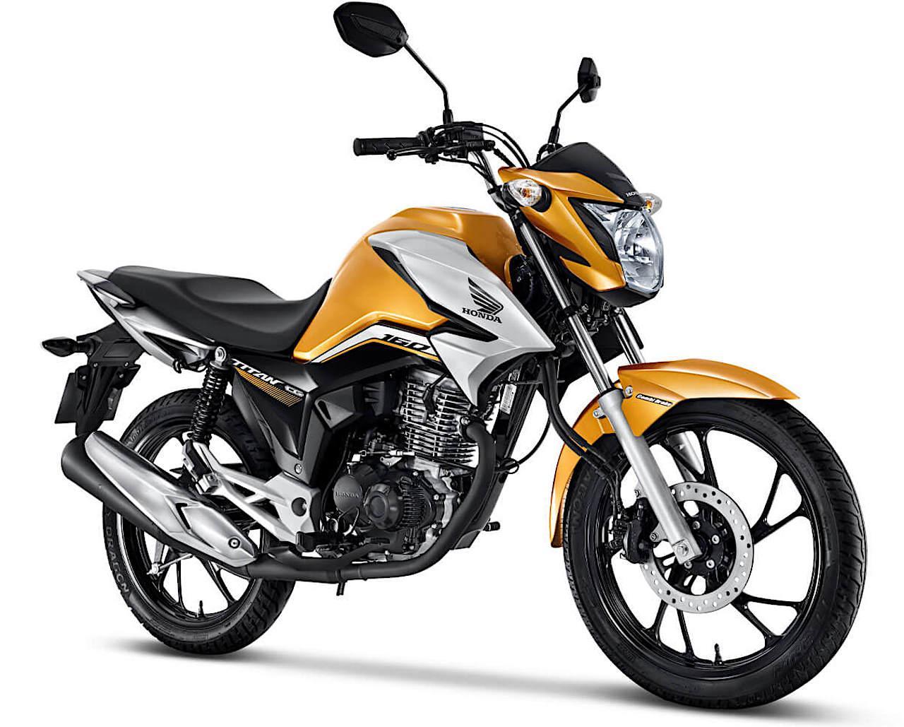 画像: Honda CG160 Titan