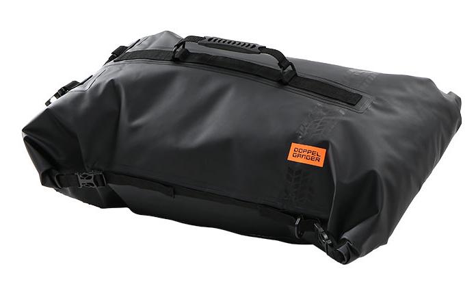 画像: ターポリンツーリングシートバッグ モデル:DBT427-BK 容量:60L 重量:1.3kg