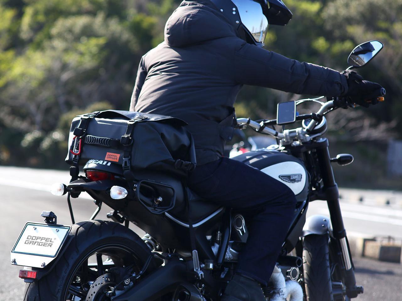 画像: 容量24L「ターポリンシートバッグ デイズ」の紹介記事 - webオートバイ