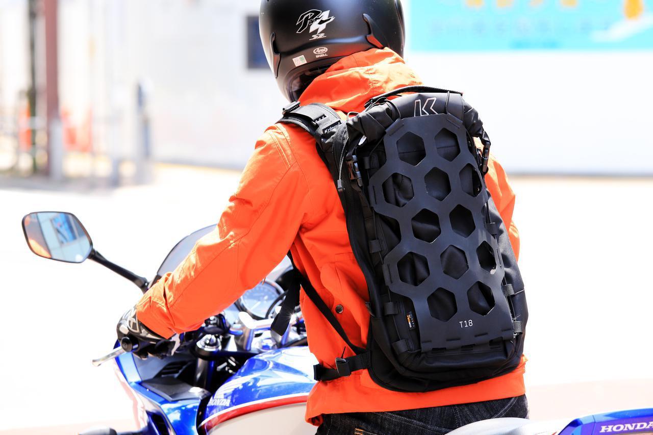 画像: 【バイク乗りのための防水バックパック】「クリーガ」製リュックの特徴を紹介 - webオートバイ