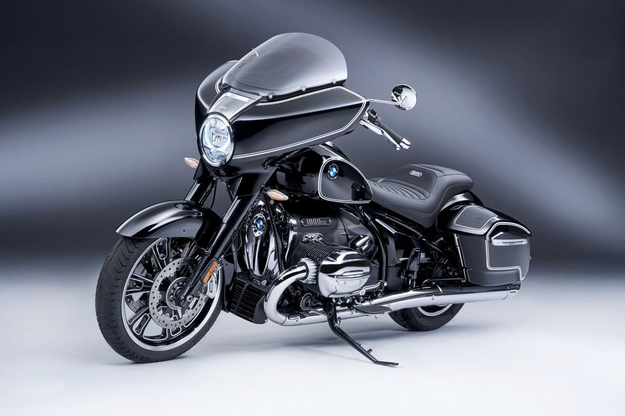 画像: BMW R18 B First Edition 総排気量:1801cc エンジン形式:空油冷4ストOHV4バルブ水平対向2気筒 シート高:720mm 車両重量:398kg 発売予定時期:2021年9月末 税込価格:未定