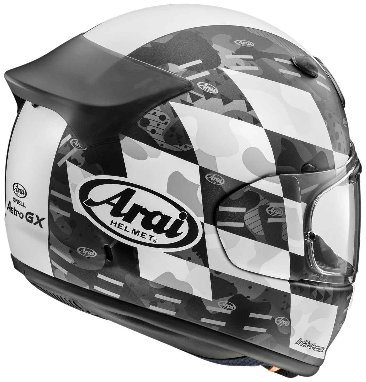 画像6: アライの最新ヘルメット・アストロGXに新たなグラフィックモデル「チェッカー」が登場! カラーは3色の設定