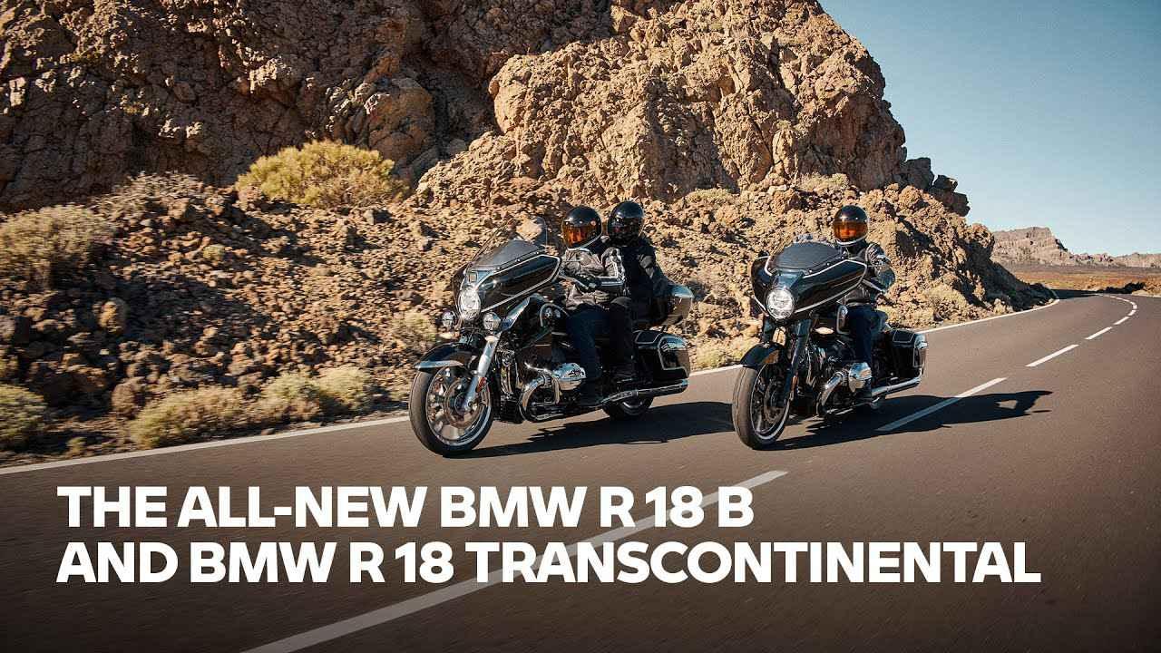 画像: 【走行映像】Raw Power – Pure Soul: The all-new BMW R18 B and BMW R 18 Transcontinental www.youtube.com