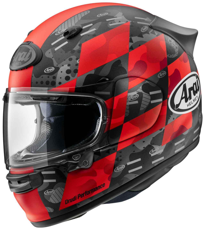 画像1: アライの最新ヘルメット・アストロGXに新たなグラフィックモデル「チェッカー」が登場! カラーは3色の設定