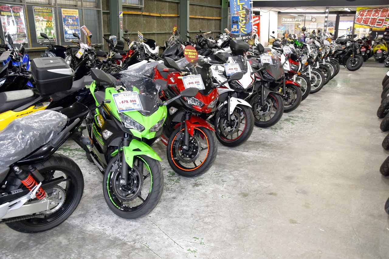 画像: 400ccや250cc、そして数年前のベストセラー、が人気モデルのキーワード