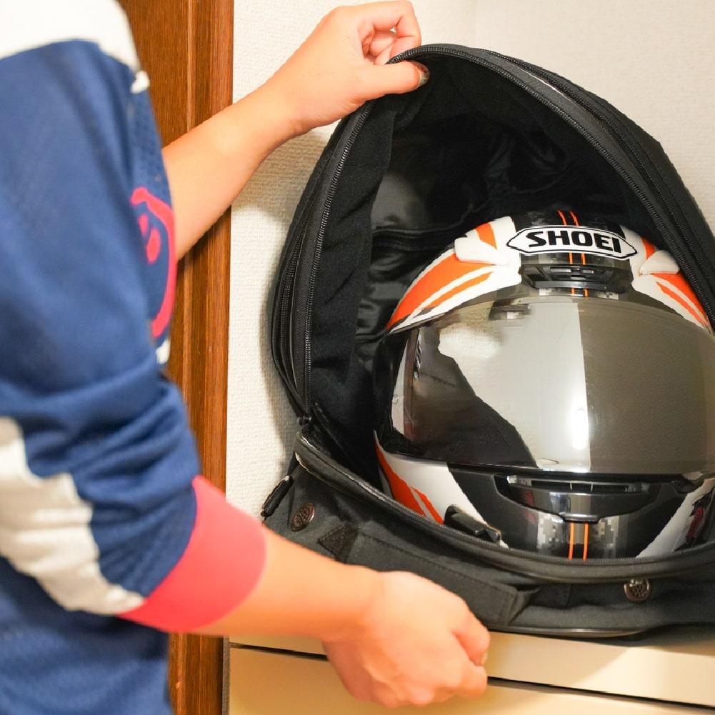 画像: サンコー「ヘルメットリフレッシャーバッグ」の特徴