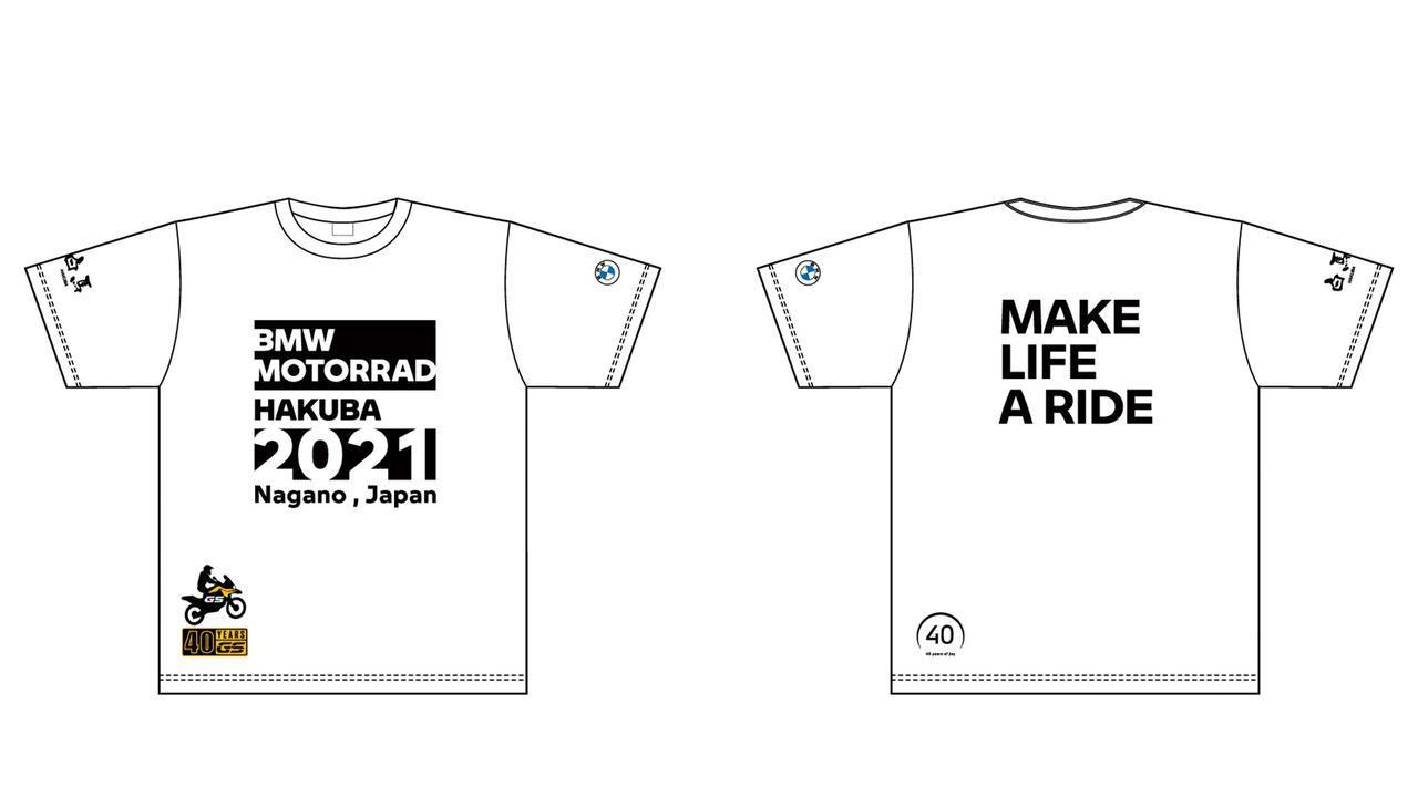 画像: ▲オリジナル限定Tシャツ(画像イメージです) 価格:3000円 サイズ:XS~XXL