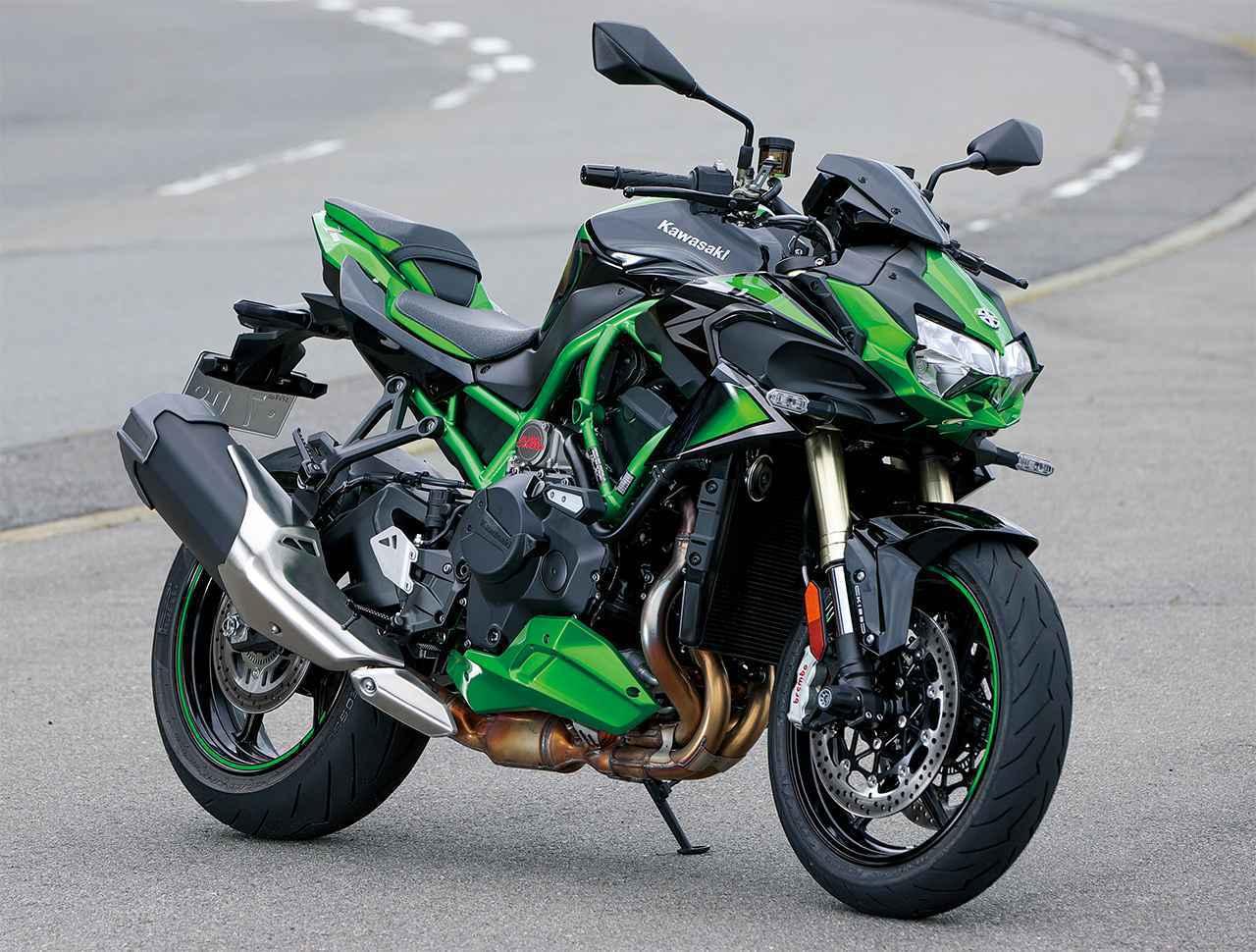 画像: カワサキ「Z H2 SE」価格等の情報 - webオートバイ