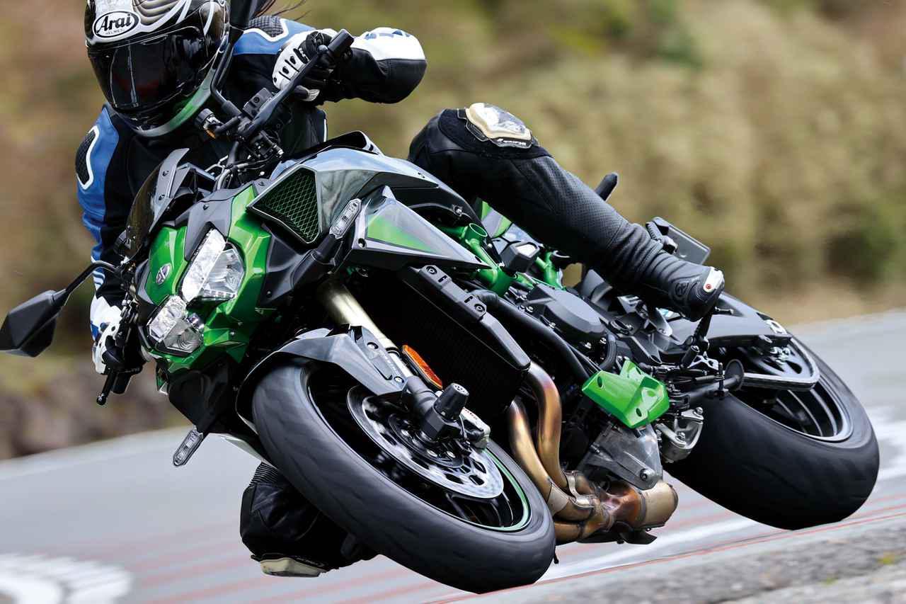 画像: 【インプレ】カワサキ「Z H2 SE」(2021年) - webオートバイ