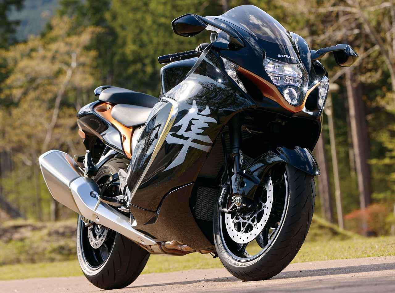 画像: 【インプレ】スズキ新型「ハヤブサ」(2021年) - webオートバイ
