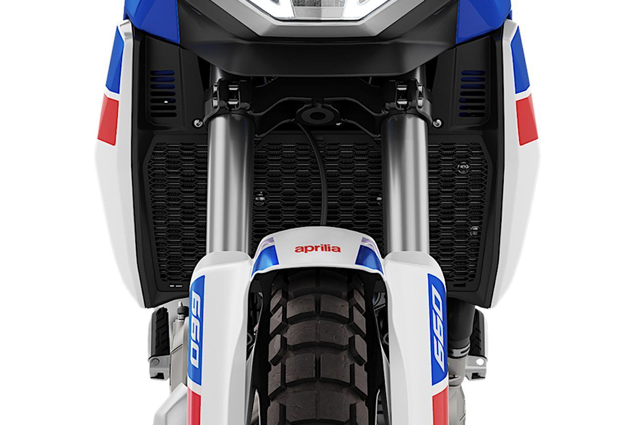 画像4: ハードなオフロード走行重視のデザイン