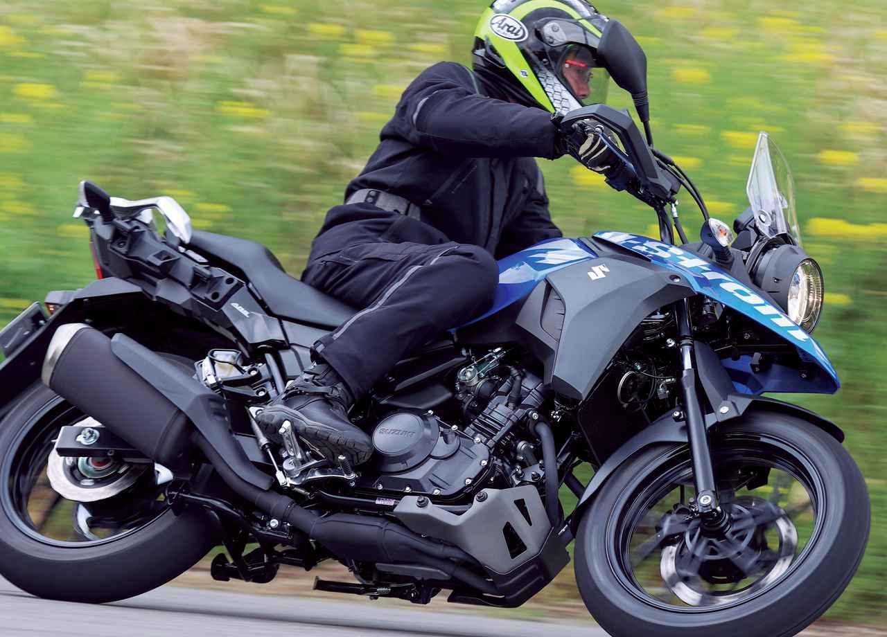 画像: 【インプレ】スズキ「Vストローム250 ABS」(2021年) - webオートバイ