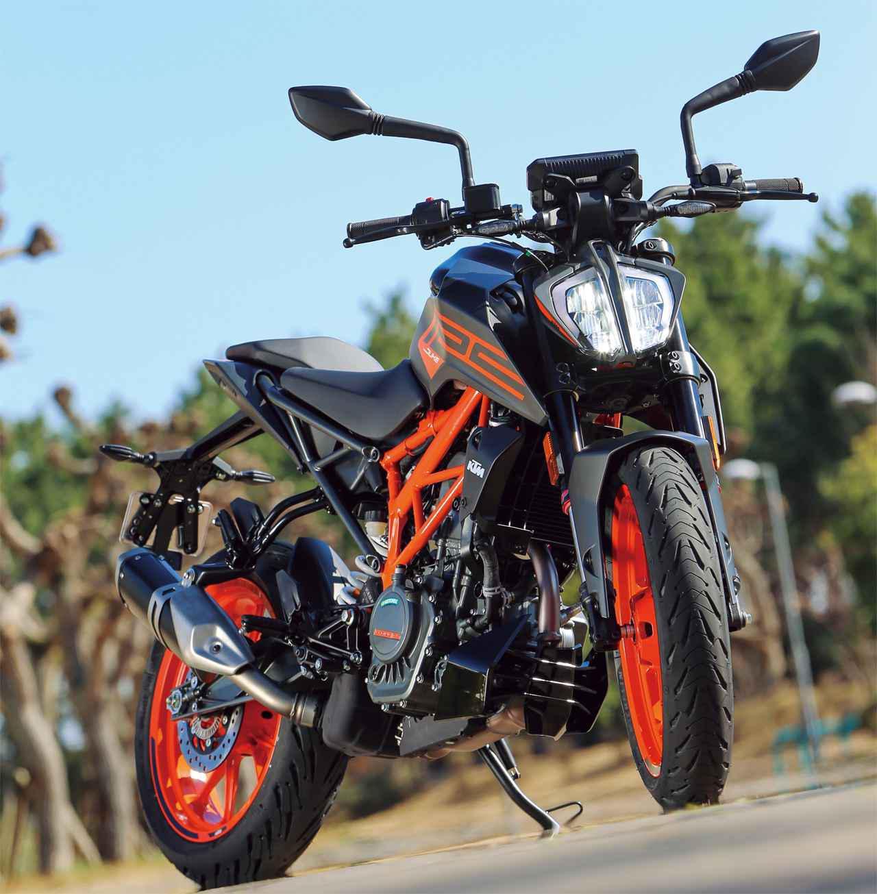 画像: 【インプレ】KTM「125 DUKE」(2021年) - webオートバイ