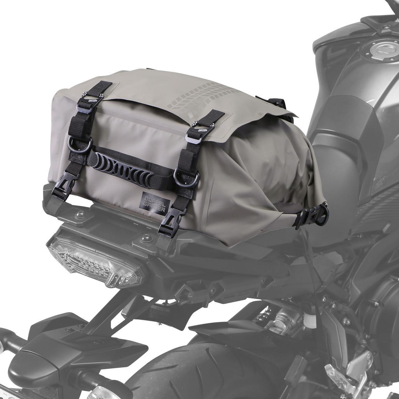 画像: 日帰りツーリングにちょうどいい防水シートバッグがドッペルギャンガーから登場! - webオートバイ