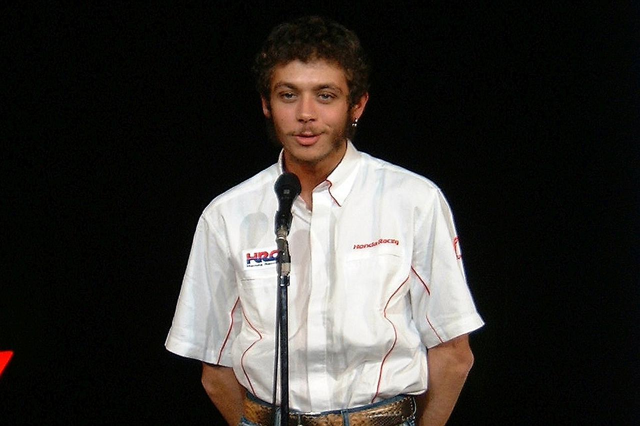 画像: 2002年、MotoGPの初年度を前にしての記者会見