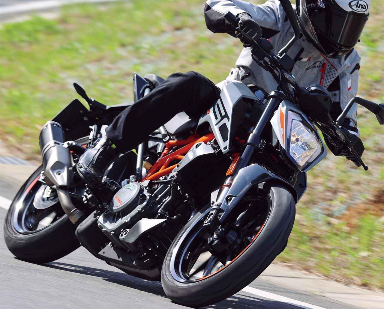 画像: 【インプレ】KTM「250 DUKE」(2021年) - webオートバイ